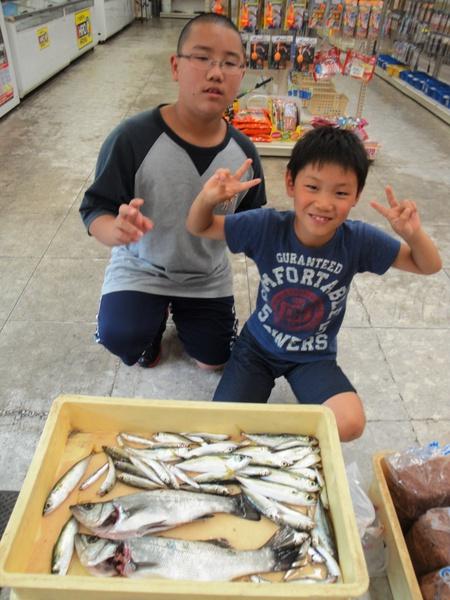 【和歌山市釣果情報】北港魚釣り公園にて