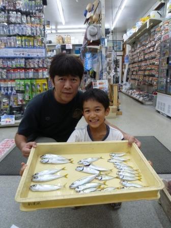 【和歌山釣果情報】雑賀崎のサビキ釣り