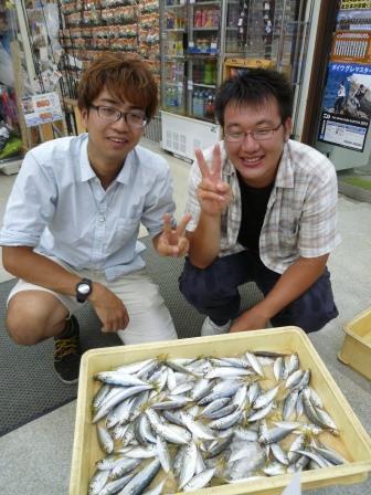 【和歌山釣果情報】田ノ浦のサビキ釣り