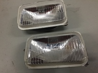 アメ車の旧車のライトの反射板再メッキ加工