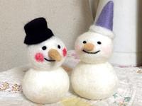 雪だるまつくろ~♪