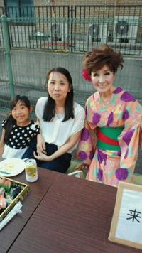 有田南病院夏祭り7月14 日古川先生と。