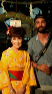 7月15日清水町八幡神社の夏祭りにゲスト出演♪