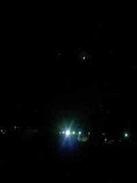 月を見ながら想うこと…