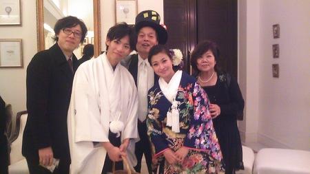 大樹くんShinoさん結婚式