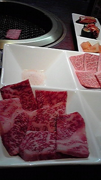 金陵苑さんで豪華な焼き肉