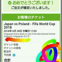 ロシアワールドカップ観てきます!!!