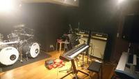 遂にスタジオ練習まで