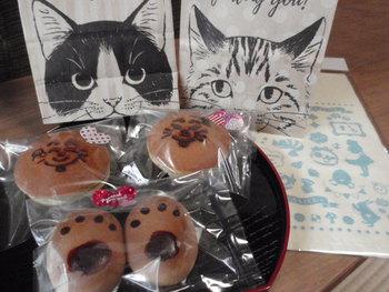 猫 みーこ バレンタイン和菓子