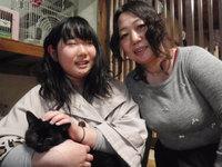 猫 里親体験中 黒猫