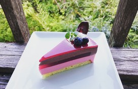 ラズベリー&チョコムース☆