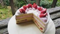 苺バニラショートケーキ☆