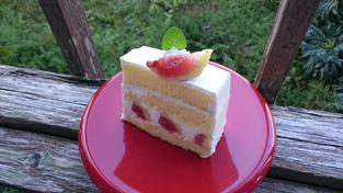 いちぢくショートケーキ☆