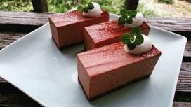 チョコレアチーズケーキ☆