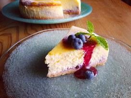 ブルーベリーチーズケーキ☆