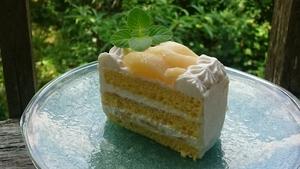 桃ショートケーキ☆