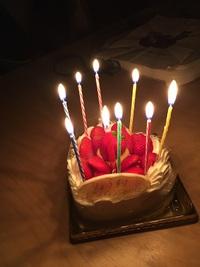 息子くんの誕生日