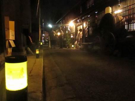 下駄市の夜