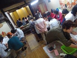 体験 和歌山県立さくら支援学校さん♪゜・*:.。. .。.:*・♪
