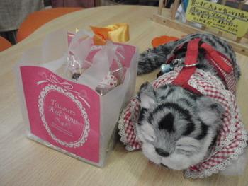 バレンタイン限定 猫饅頭