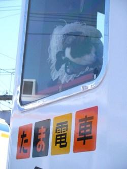 たま電車出発