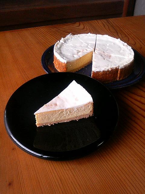 チーズケーキ よ♪