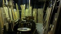 手作り用展示スペース