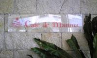 Cafe de manmaさんにて