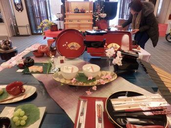 うるわし館のテーブルコーディネート 春♪