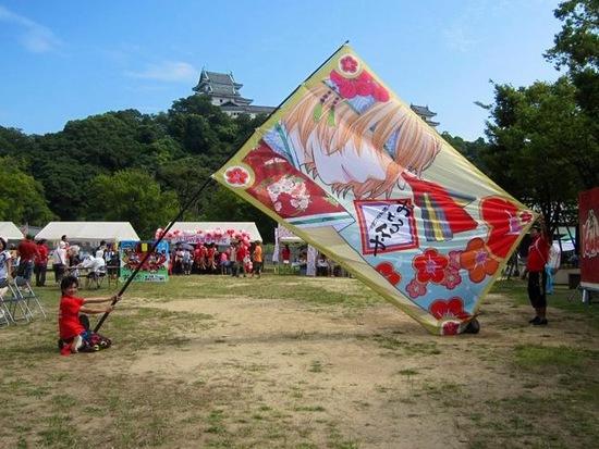 【告知】ナツメキコラボ大旗@京都さくらよさこい