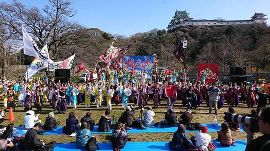 春まつり2017総踊り