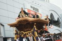 岸和田だんじり祭りへ〜