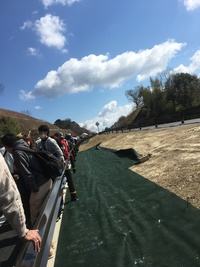 京奈和自動車道「紀北西道路」全線開通記念イベント ウォーキング大会