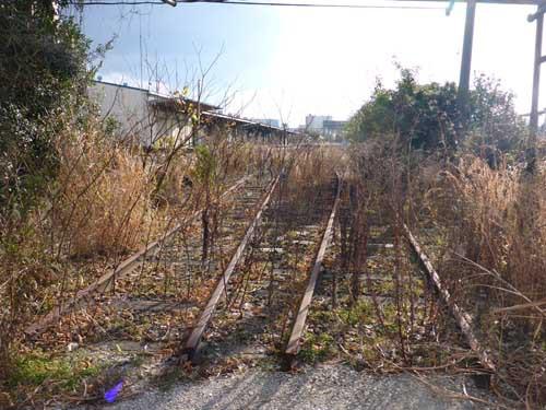 名古屋臨海汐見町駅中側線