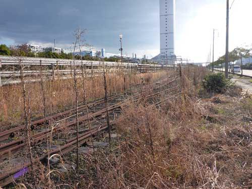 名古屋臨海汐見町駅南側線1