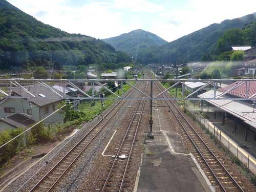 中央線奈良井駅
