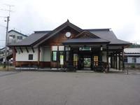 奥羽線羽後境駅