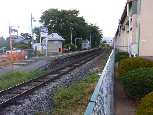 小海線北中込駅
