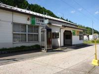 奥羽線二ツ井駅1