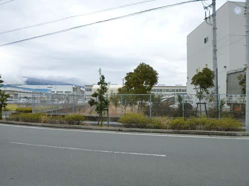 東海道線沼津駅北西