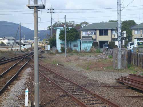 高徳線吉成駅