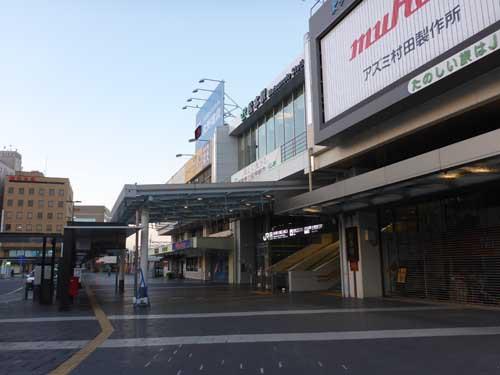 篠ノ井線松本駅
