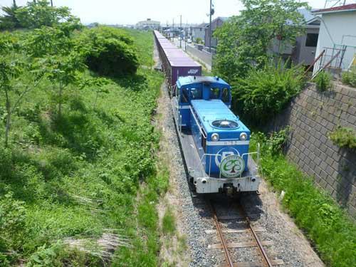 臨海 鉄道 八戸 ◆八戸臨海鉄道◆レール輸送列車: Aux
