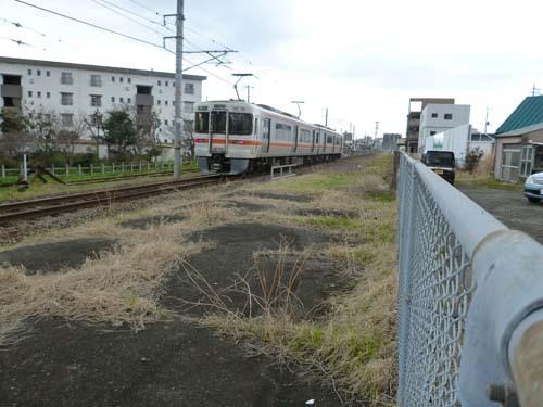 東海道線沼津駅北東