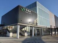 羽越線中条駅1