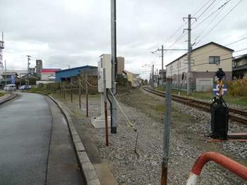 富山港線富山港駅