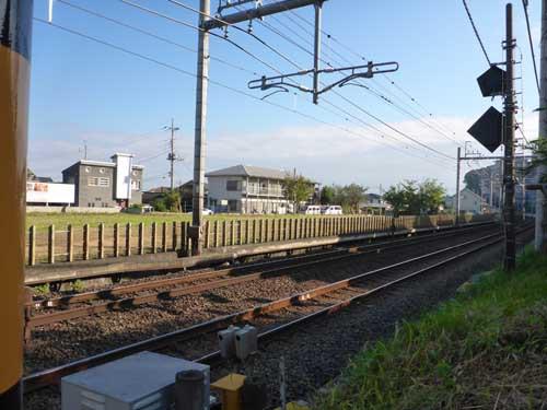 西武鉄道黒須貨物駅