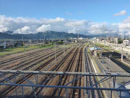 信越線篠ノ井駅