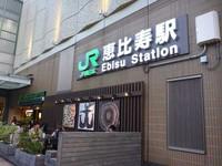 山手線恵比寿駅