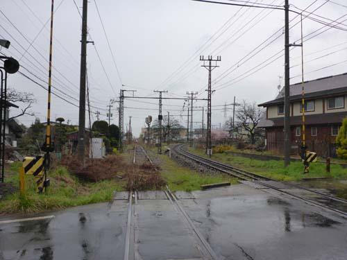 長野電鉄信州中野駅